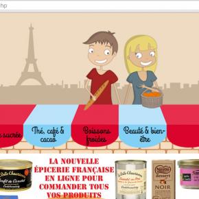 Französische Produkte bestellen - mescoursesenfrance.com